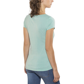 Kaikkialla Tytti Drirelease SS Shirt Women Light Blue
